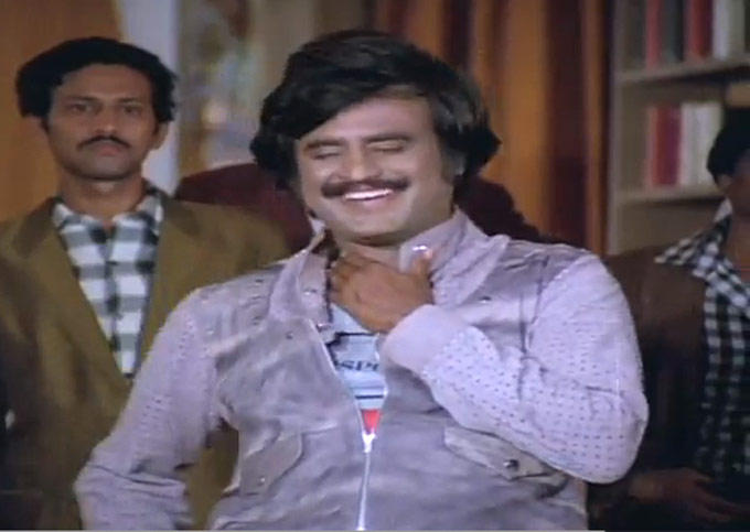 Rajnikanth Smiling Look Still