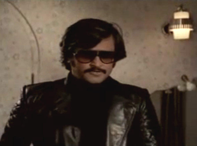 Rajnikanth Wear Goggles Smart Look Still