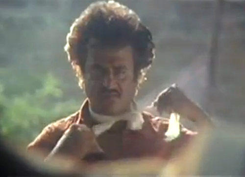 Superstar Rajnikanth Angry Look Photo