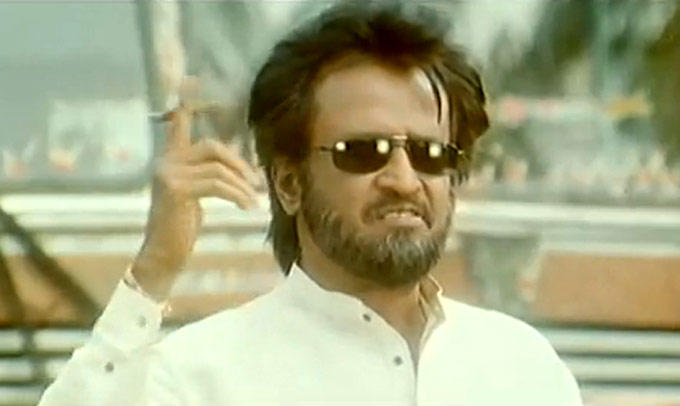 Tamil Superstar Rajnikanth Photo Still