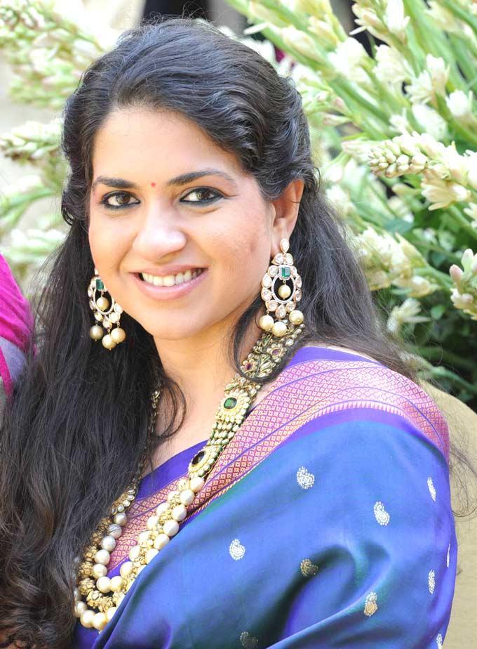 Shaina NC Smiling Still At Swapnali Bhosale And Vishwajeet Kadam Wedding