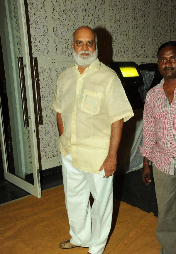 K. Raghavendra Rao Spotted At Music Director Koti Daughter Wedding