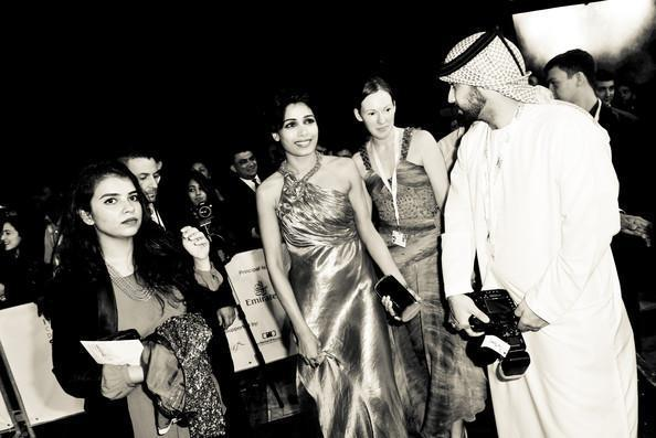 Frieda Pinto Arrived At The Screening Of Life Of Pi At Dubai Internatio