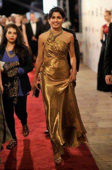 Frieda Arrived At The Screening Of Life Of Pi At Dubai International Film Festival