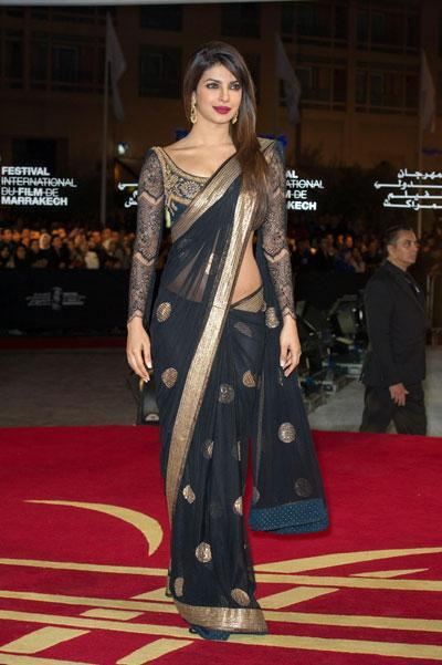 Pryianka Arrives To The Award Ceremony Of The 12th International Marrakech Film Festival