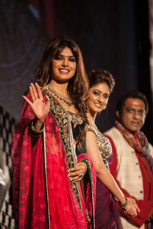 Priyanka,Ileana  And  Anurag Greets The Audience At The 12th Marrakech Film Festival