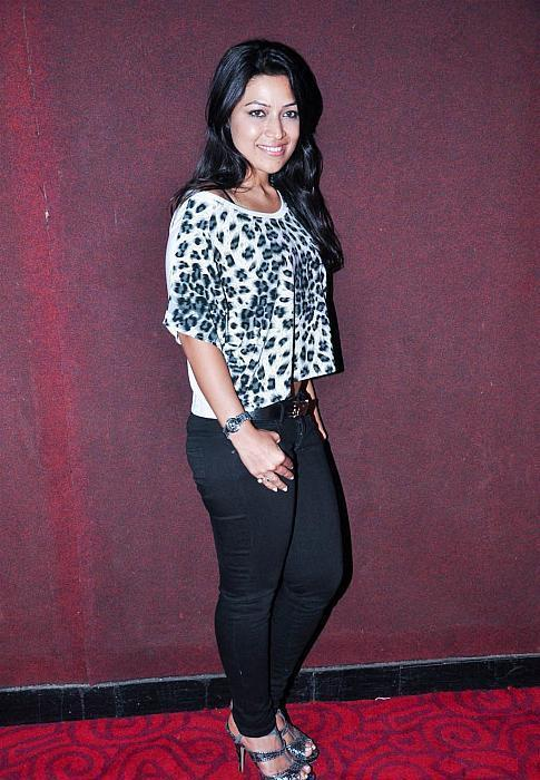 A Guest Snapped During The  First Look Launch Of Movie Aksh Vani