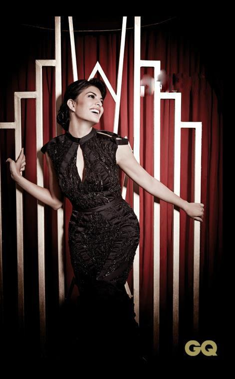 Jacqueline Fernandez Glamour Look At GQ Men Of The Year