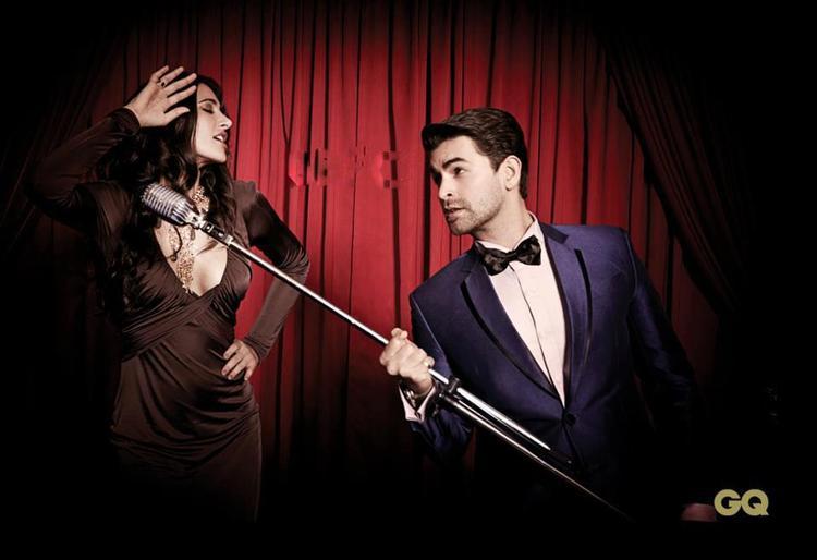Nargis Fakhri And Neil Nitin Mukesh Nice Pose At GQ Men Of The Year