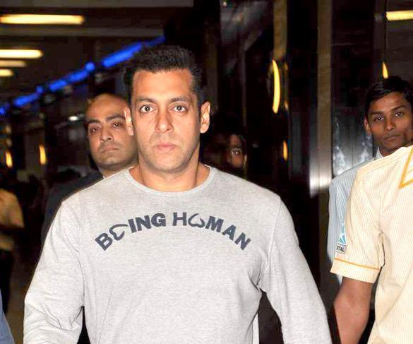 Salman Khan Spotted At Mumbai Airport After Return From Dubai