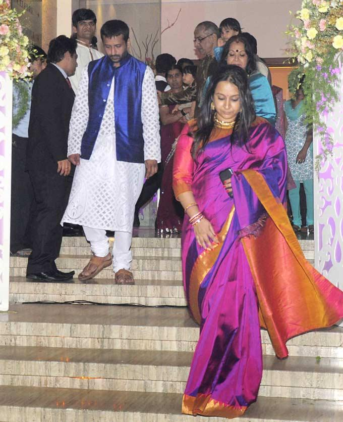 A Celeb At Vidya And Siddharth Pre-Wedding Bash