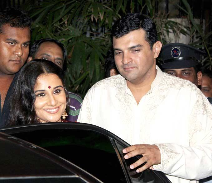 Vidya And Siddharth At Their Pre-Wedding Bash