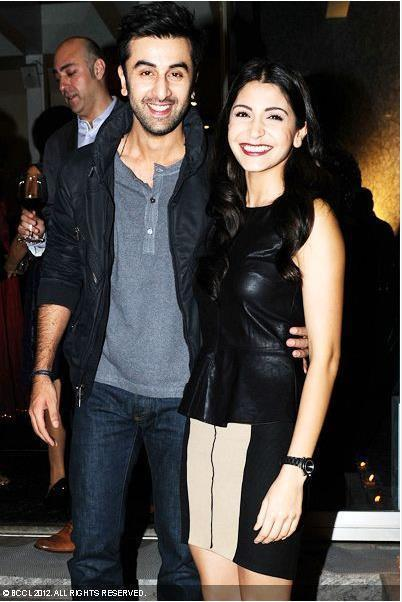 Ranbir With Anushka Spotted To Celebrate The Launch Of British Columbia's Operations