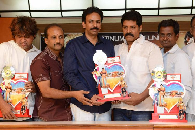Srihari Attend The Yamaho Yama Platinum Disc Function