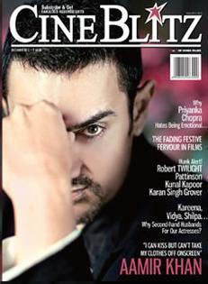 Aamir Khan On The Cover Of Cine Blitz December 2012