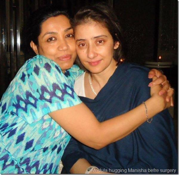Manisha Koirala Photo Clicked Before Her Surgery
