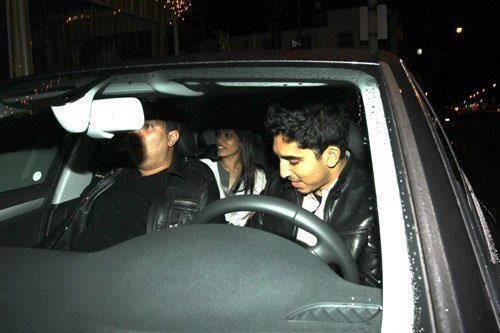 Freida Pinto And Dev Patel Photo Clicked In Car