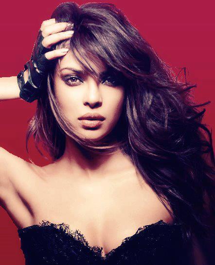 Priyanka Hot Expression Photo Shoot For GQ India Magazine December 2012