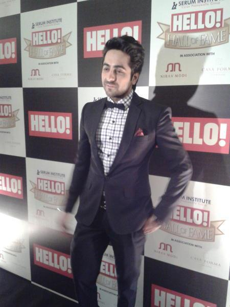 Ayushmann Spotted At  Hello! Magazine Event