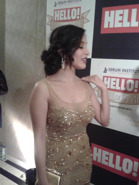 Sophie Glamorous Look Still At  Hello! Magazine Event