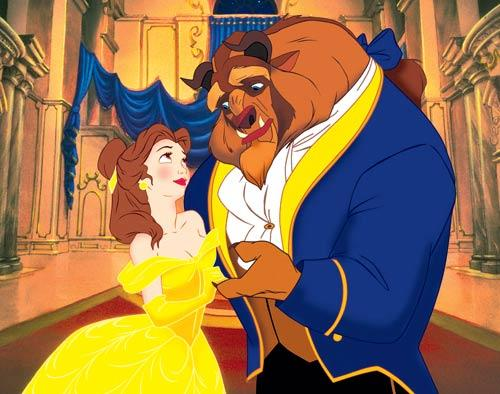 A Still From Beauty And The Beast Movie