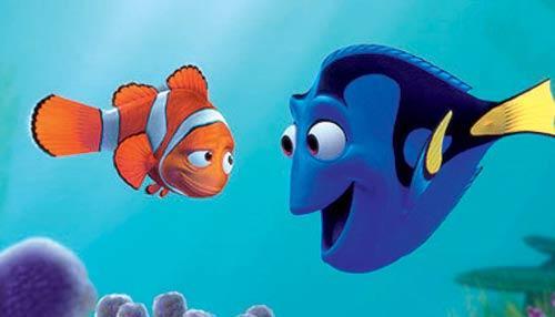 A Still From Finding Nemo Movie