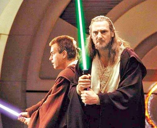 A Still From Star Wars Episode I: The Phantom Menace Movie