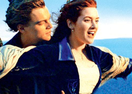 A Still From Titanic Movie