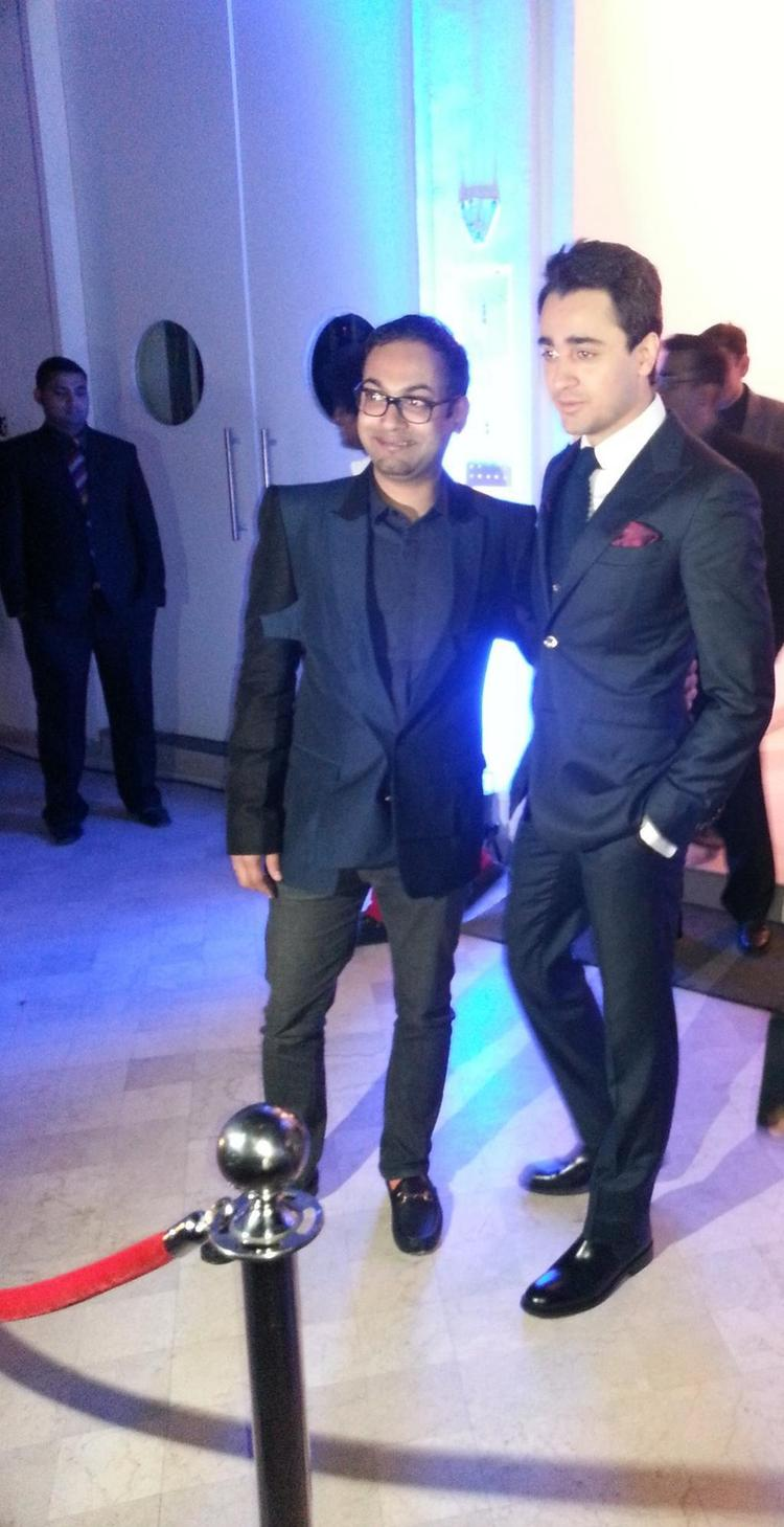 Imran Khan At GQ Best Dressed Men 2012 Party