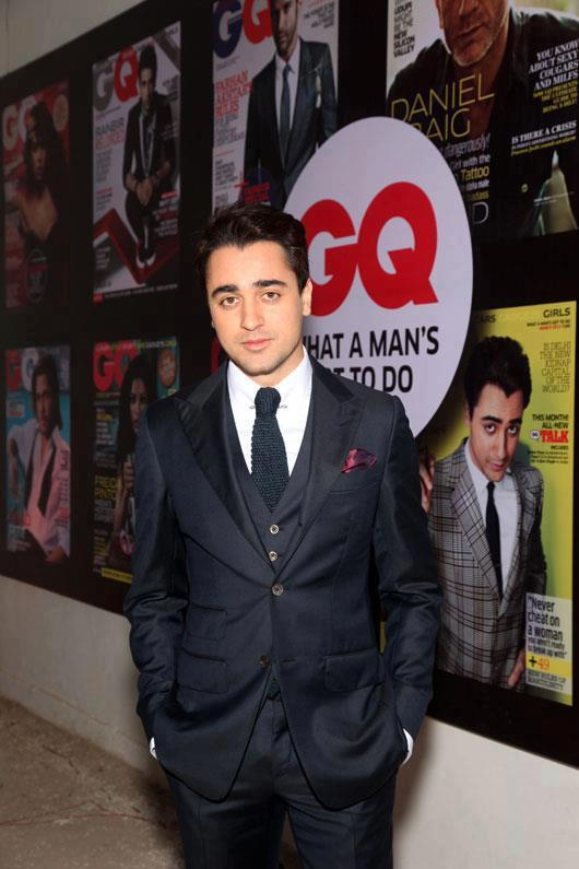 Imran Khan Looked Dashing In Suit At GQ Best Dressed Men 2012 Party
