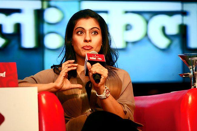 Kajol Devgan At Agenda Aaj Tak 2012