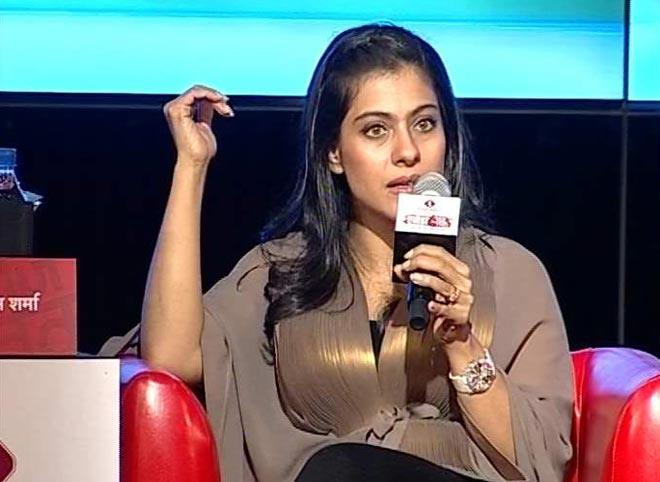 Kajol Devgan Attend The Agenda Aaj Tak 2012 Event
