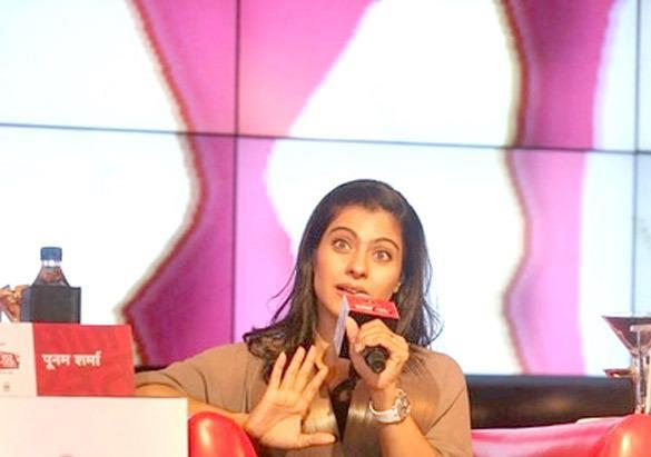 Kajol Devgan Snapped At Agenda Aaj Tak 2012