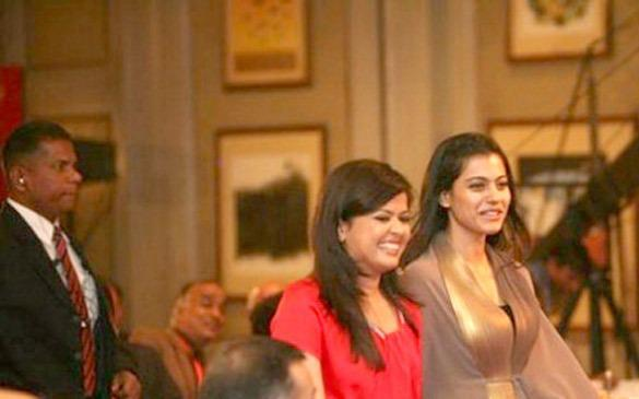 Kajol Devgan Spotted At Agenda Aaj Tak 2012