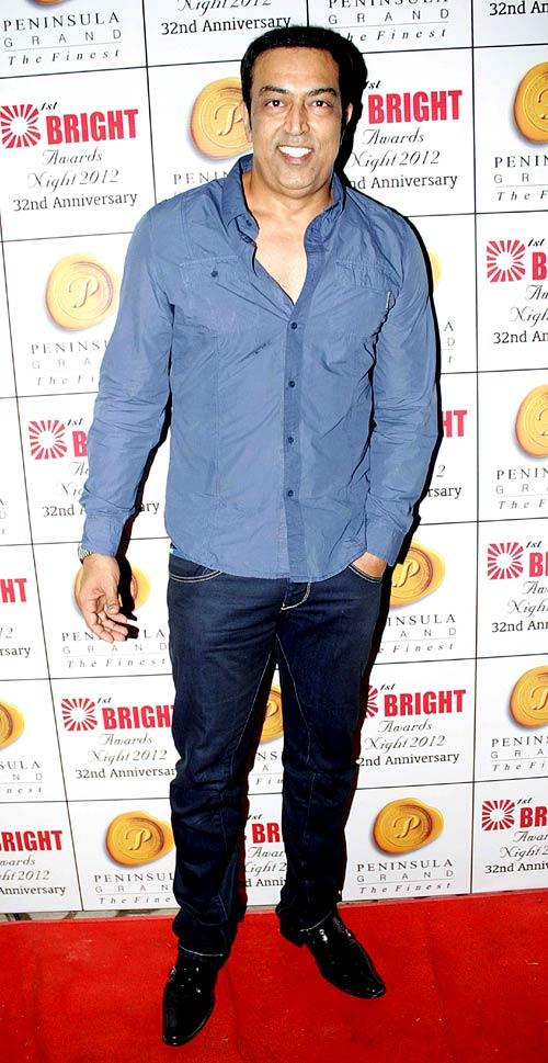 Vindoo Dara Singh Spotted At 1st Bright Awards 2012