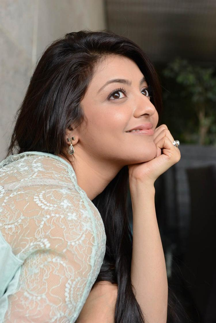 Kajal Agarwal Cute Look Photo Shoot