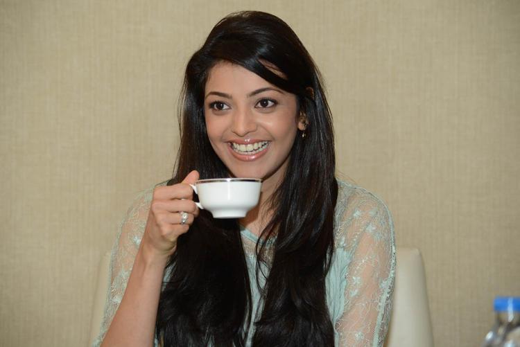 Kajal Agarwal Photo Still During Tea