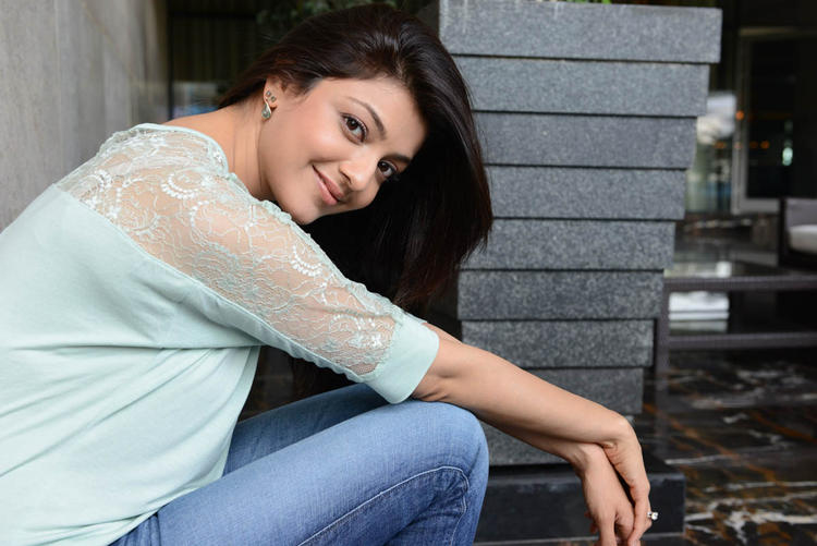 Kajal Agarwal Spicy Look Photo Shoot