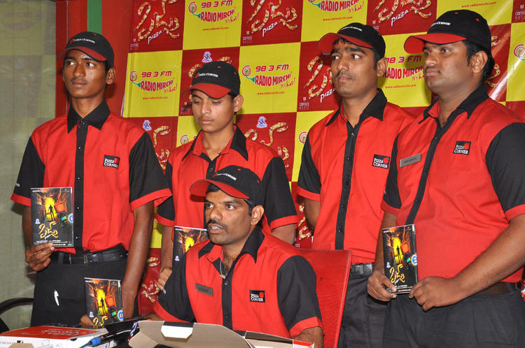 Pizza Delivery Boys Launched The Pizza Audio CD At Radio Mirchi Office