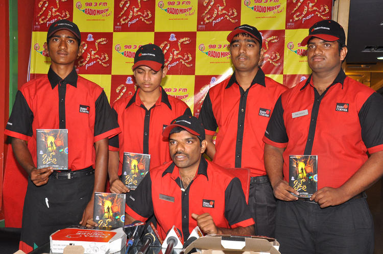 Pizza Delivery Boys Unveiled The Pizza Audio CD At Radio Mirchi Office