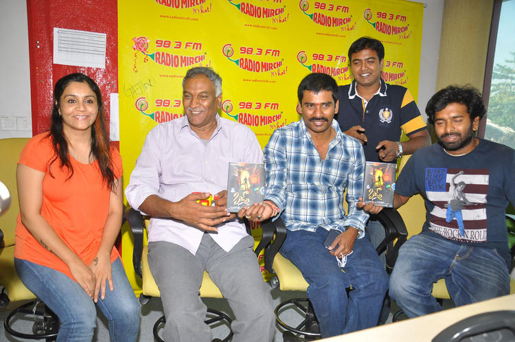 Tammareddy And Suresh Attend The Launch Of Pizza Movie Audio At Radio Mirchi Office
