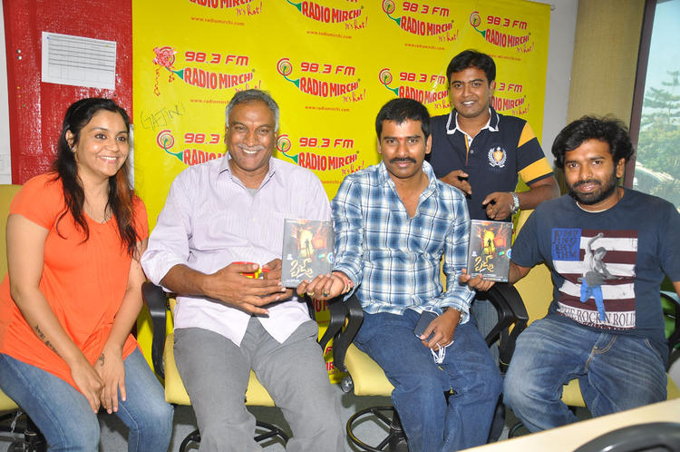 Tammareddy And Suresh At Radio Mirchi Office For Pizza Movie Audio Launch