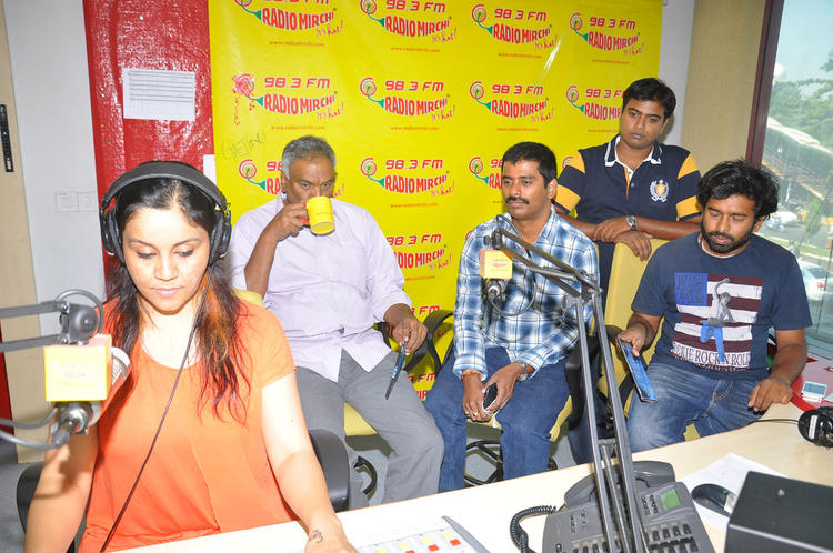 Tammareddy And Suresh Take Tea At Radio Mirchi Office For Pizza Movie Audio Launch