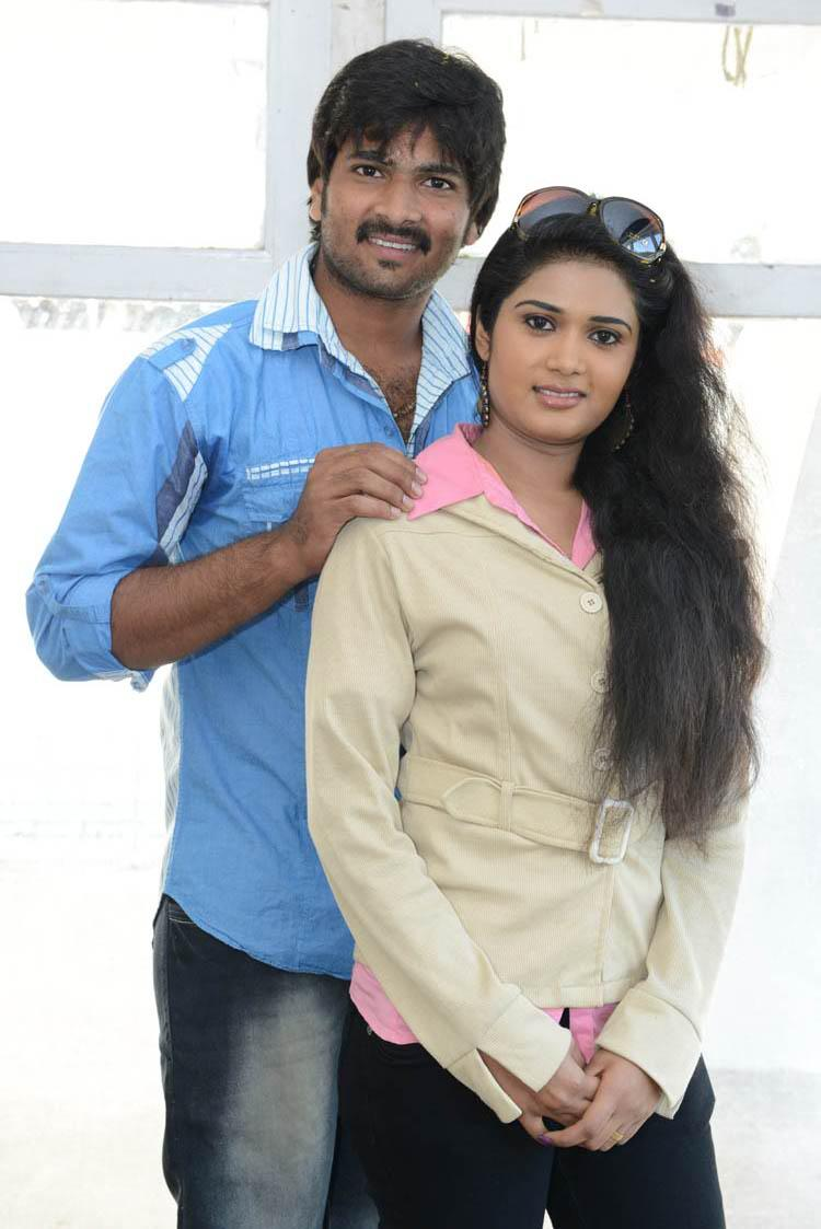 Venu Gopal And Sunitha Glamorous Look Still At LGN Entertainments Prod No 1 Movie Opening