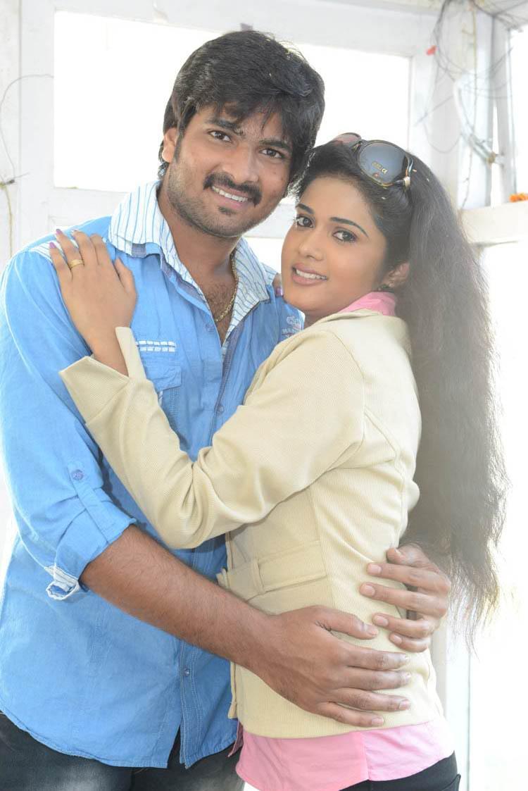 Venu Gopal And Sunitha Trendy Looking Photo At LGN Entertainments Prod No 1 Movie Opening