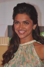 Deepika Padukone Smiling Still At Garnier Cream Launch Event