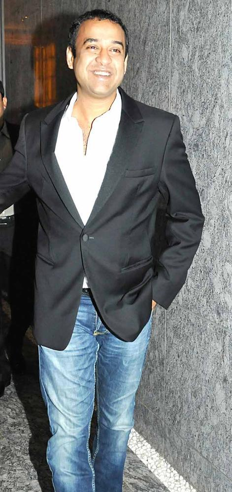 Madhu Montana Clicked At Dinner Party In Honour Of Andre Agassi