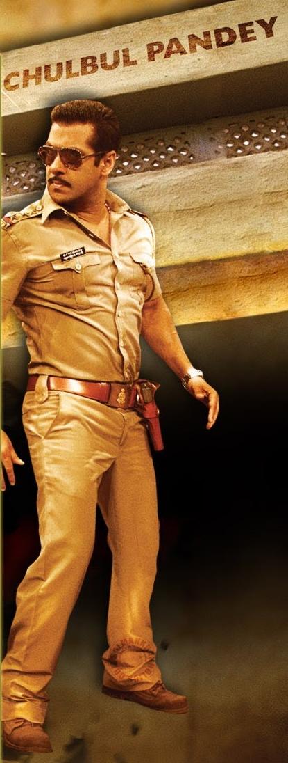Salman Khan As Chulbul Pandey Style In Dabangg 2