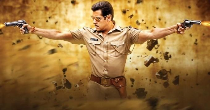 Salman Khan Shooting Photo From Movie Dabangg 2