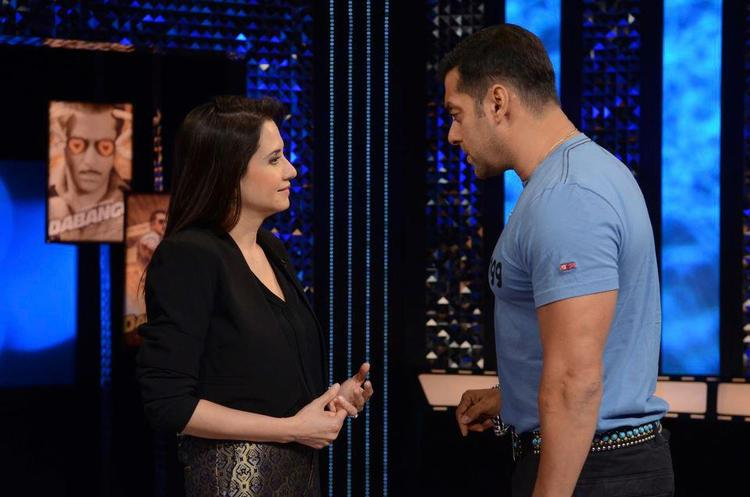 Anupama And Salman Conversation Photo From The Front Row Show